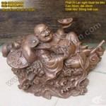 Tượng Phật Di Lạc ngồi quạt ba tiêu vượt biển