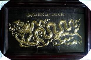 tranh đồng rồng thời lý rồng thăng long