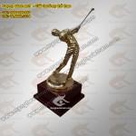Tượng đồng người chơi Golf làm Giải thưởng Golf Cup Golf