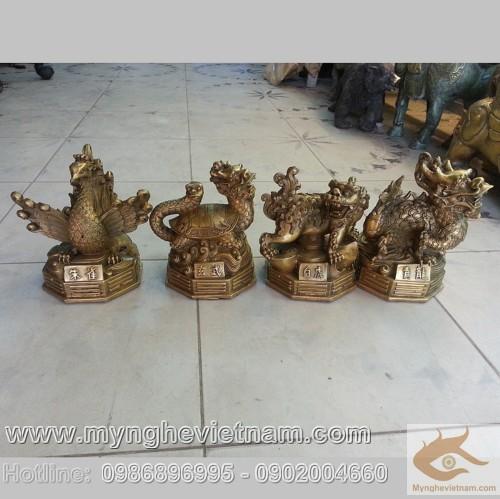 Long Phượng, Tượng Đồng Long Phượng, Rồng Phượng, Mang lại điềm lành, may mắn cho gia đình, vật phẩm phong thủy, cầu tài lộc, tránh tiểu nhân, cầu may mắn