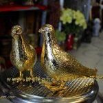 Tượng chim Bồ Câu bằng đồng