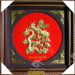 Chữ Đức Rồng, tranh chạm đồng, Quà tặng văn hóa truyền thống