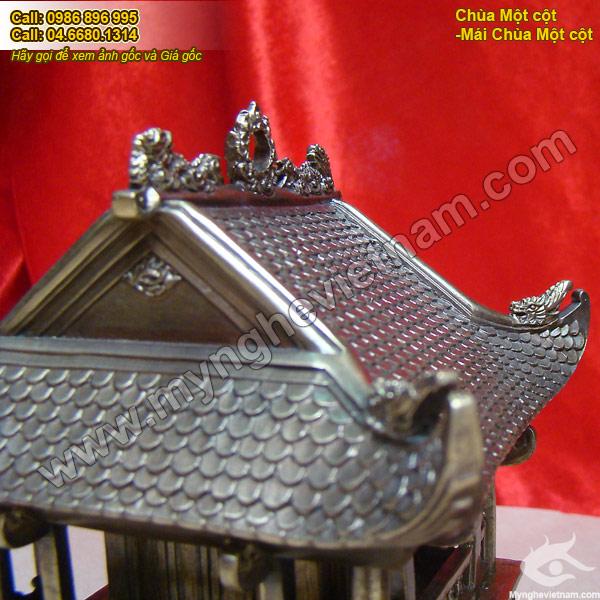 biểu tượng đồng mái chùa 1 cột hà nội