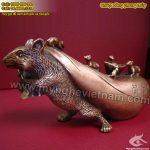 Tượng chuột đồng con giáp phong thủy