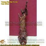 Tượng Đạt Ma Sư Tổ, tượng đồng thờ cúng giả cổ