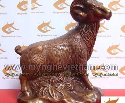 tượng dê đồng phong thủy 12 con giáp