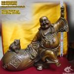 Tượng Phật Di Lạc Kéo Tiền, Di lặc Thiềm Thừ