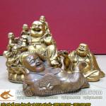 Các mẫu tượng Phật Di Lạc gánh vàng – ngũ thử – ngồi tiền