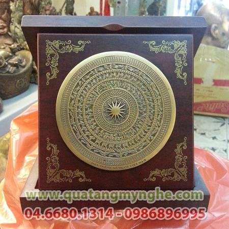 Đĩa đồng, đĩa mặt trống đồng, đĩa quà tặng lưu niệm