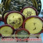 Đĩa đồng ăn mòn quà tặng , quà lưu niệm, biểu trưng kỷ niệm chương