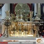 Đỉnh thờ cúng đồng vàng nguyên chất, đỉnh hoa sòi Việt Nam