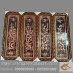 Tranh tứ quý, tranh bốn mùa bằng đồng nguyên chất