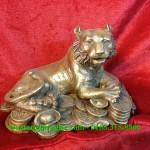 Tượng hổ đồng phong thủy, tượng hổ ngồi tiền, con giáp phong thủy