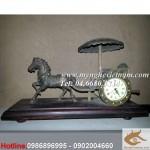 Đồng hồ xe ngựa kéo, đồng hồ bằng đồng