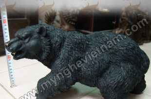 tượng gấu đúc đồng nguyên chất