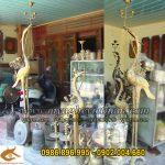 Nơi bán hạc đồng thờ cúng cho đình chùa