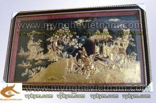 tranh kết nghĩa vườn đào, tranh lưu bị quan vân trường trương phi