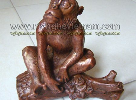 tượng khỉ đồng phong thủy 12 con giáp