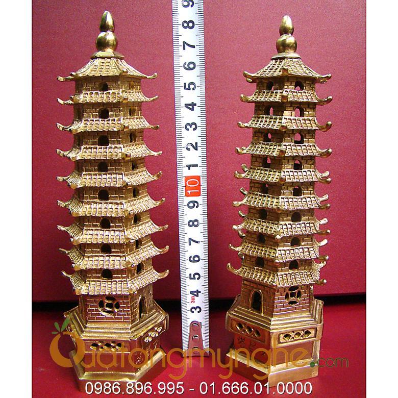 tháp văn xương phong thủy bằng đồng nguyên chất