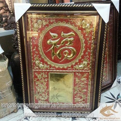 Lốc lịch bằng đồng gò, tranh lốc lịch, treo lịch năm mới - Qui cách: Gò đồng mỹ nghệ của làng nghề Đồng Xâm