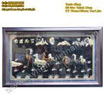 Tranh Bát Mã, Mã đáo thành công, tranh ngựa đồng phong thủy