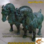 Ngựa cống phẩm cúng tiến, ngựa Phong thủy bằng đồng