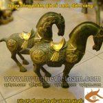 Tượng ngựa cống phẩm, ngựa thờ bằng đồng