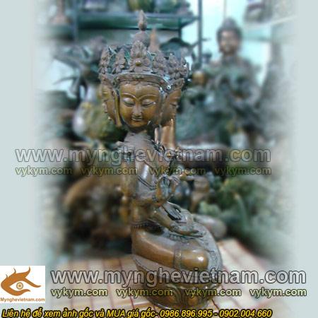 tượng ma lợi chi thiên bằng đồng, tượng thần thắng mật tông tây tạng