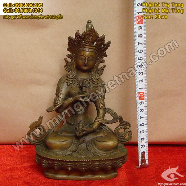 tượng phật bà mật tông phật bà tây tạng tara phat-ba-mat-tong-20cm