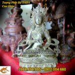Tượng Phật Bà mật tông cao 20cm cầm pháp khí