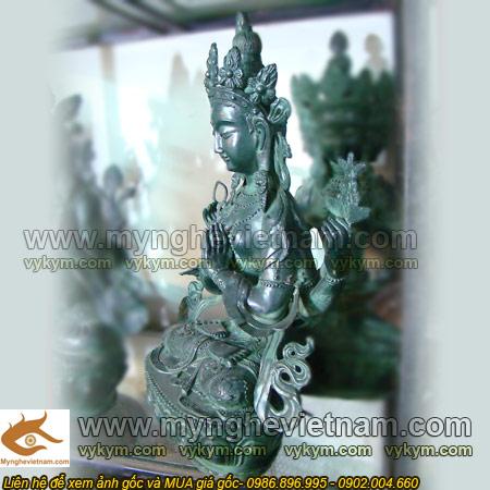 tượng phật bà mật tông tây tạng cao 50cm