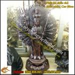 Tượng Phật bà nghìn mắt nghìn tay, thiên thủ thiên nhãn cao 60cm