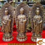 Tượng Tam thánh, Tam thế Phật, tây phương tam thánh, kt cao 20cm