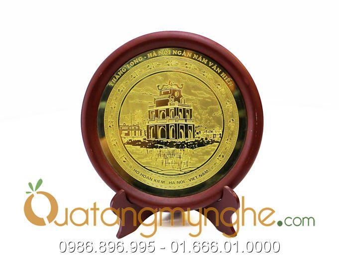 đĩa đồng lưu niệm, quà tặng sự kiện và hội nghị 3