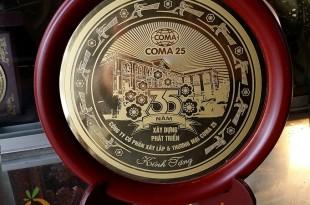 đĩa đồng lưu niệm, quà tặng sự kiện và hội nghị 9