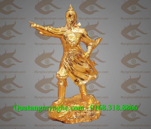 tượng trần hưng đạo, tượng đồng đức thánh trần, quà tặng lưu niệm, tượng phong thủy