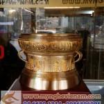 Trống đồng quà tặng, ĐK 20cm,Trống Đồng Việt Nam,Quà tặng mỹ nghệ cao cấp