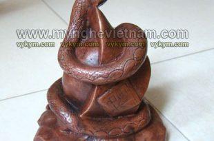 tượng rắn đồng phong thủy