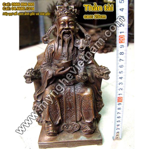 tượng thần tài ông địa thờ cúng 2