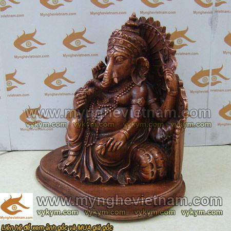 tượng thần tài đầu voi, tượng thần genasa