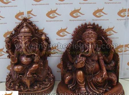 tượng thần đầu voi mật tông tây tạng