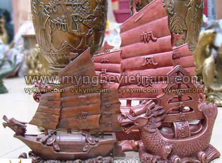 thuyền rồng phong thủy bằng đồng, thuyền chở vàng