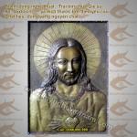 Tranh đồng chúa Jesus, trái tim chúa Giê Su