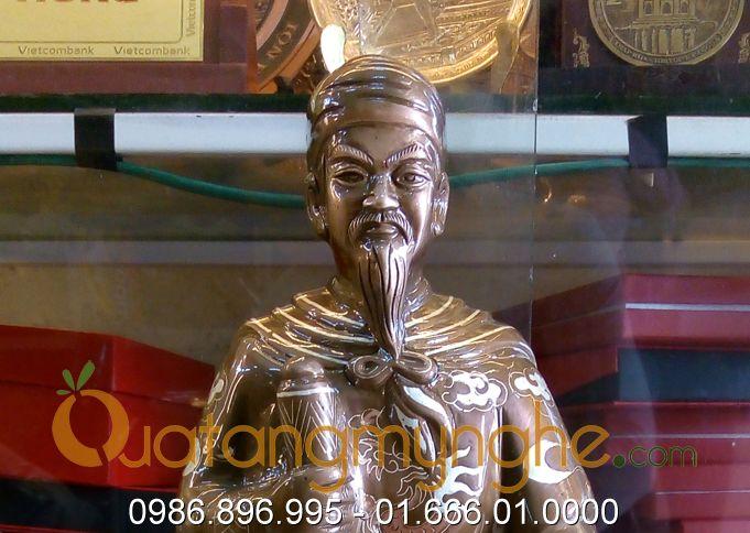 tượng trần hưng đạo tam khí, tượng đức thánh trần khảm bạc