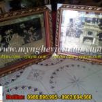 Tranh đồng khuê văn các, tranh chùa 1 cột, quà tặng văn hóa Hà Nội