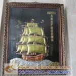 Tranh thuận buồm xuôi gió bằng đồng – tranh phong thủy