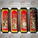 Bộ Tứ Linh Long Ly Quy Phượng, tranh tứ linh bằng đồng