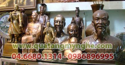 tượng bác hồ, tượng Bác Hồ bằng đồng, tượng đồng chân dung,tượng bán thân,tượng trang trí hội trường,tượng thờ cúng