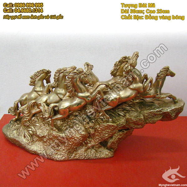 tượng ngựa đồng, tượng bát mã mã đáo thành công 2