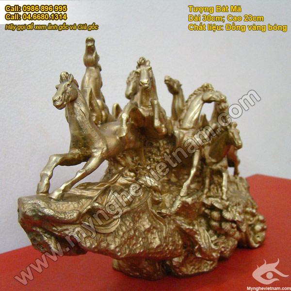 tượng ngựa đồng, tượng bát mã mã đáo thành công 4